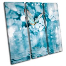 Blue Butterfly Tranquil Animals - 13-0599(00B)-TR11-LO